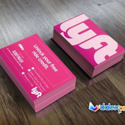 Lyft Business Cards >> Business Cards Archives Dalex Design Group