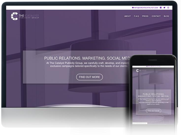 PORTFOLIO webdesign catalyst