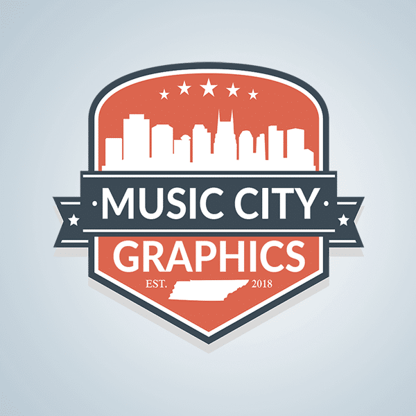 Music City Graphics Logo by Dalex Design our work Our Work MusicCityGraphicsLogo